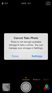 iphone cannot take photo cisd instructional technology help i m out of storage on my iphone