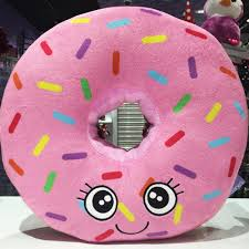 omg look how cute we need this claires doughnut cushion in