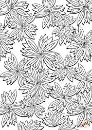 floral pattern coloring page free printable coloring pages