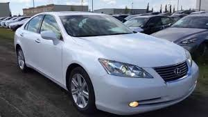 lexus sedan 2008 pre owned white 2008 lexus es 350 premium navigation package