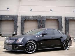 cadillac cts 2010 black 21 modulare m15 satin black 2010 cadillac cts v dfw auto
