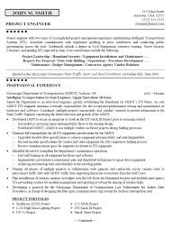 Sample Resume Email by It Project Engineer Sample Resume Uxhandy Com