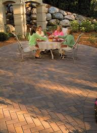 enjoy your relaxing patio made with holland pavers barkman