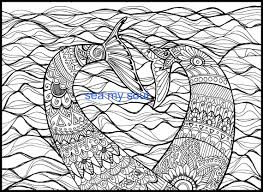 mermaid tails coloring mermaid art