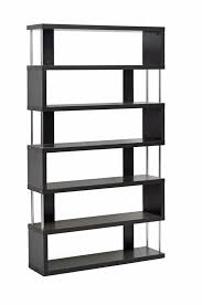 Dark Bookcase Baxton Studio Barnes Dark Brown Six Shelf Modern Bookcase