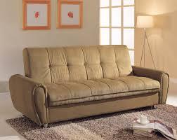 khaki microfiber sofa bed futon caravana furniture