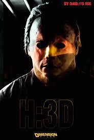 halloween 3d poster teaser fan by tibubcn on deviantart