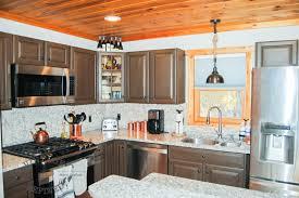 Painting Kitchen Cabinets Chalk Paint Vintage Refined Kitchen Makeover Chalk Painting Kitchen Cabinets