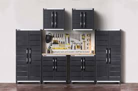 keter 6 piece garage complete storage system set u0026 reviews wayfair