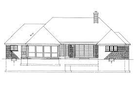 View Lot House Plans Georgian House Plans Ingraham 42 016 Associated Designs