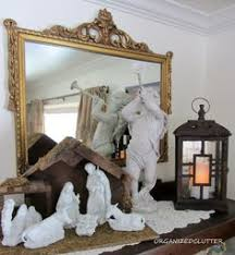 Home Interior Collectibles 11 Home Interior Homco Nativity Set 5609 All White With