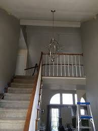 Stair Banister What Color To Paint Stair Banister And Treads