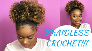hair crochet here s how to create a puff ponytail using the braidless crochet