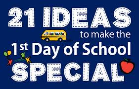 first day of kindergarten ideas u0026 traditions bright