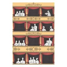 Fornasetti Curtains Teatro 97 14042 Png
