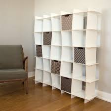 white cubby bookcase white 21 cubby tall bookcase by sprout kids rosenberryrooms com