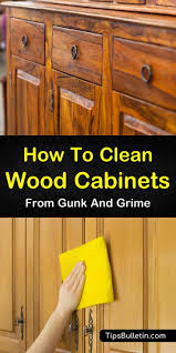 best product to clean grease cabinets 7 easy effective ways to clean wood cabinets cleaning