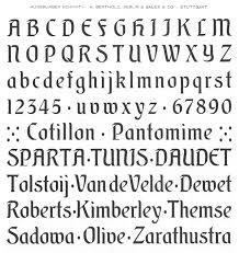 schrift design schnorr