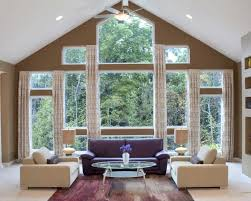 Large Window Curtain Ideas Designs Living Room Happy Window Curtain Ideas Large Windows Design