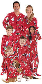 hoodie footie winter whimsy for the whole family p j s