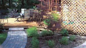 backyard landscape r e marshall nursery