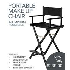professional makeup artist chair aqua aluminium foldable makeup chair directors chairprofessional