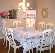 Shabby Chic Dining Table Set Dining Room A Stunning Shabby Chic Dining Table 6 Chairs In A