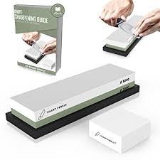 Whetstone For Kitchen Knives Premium Sharpening 2 Side Grit 3000 8000 Whetstone Best