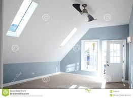 Schlafzimmer Blaue Wandfarbe Modernes Leeres Schlafzimmer Mit Blauer Wandfarbe Stockbild