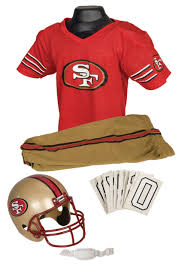 harley quinn halloween costume party city nfl 49ers uniform costume
