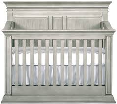 White Convertible Baby Crib Baby Cache Vienna 4 In 1 Convertible Crib Ash Gray Babies R Us