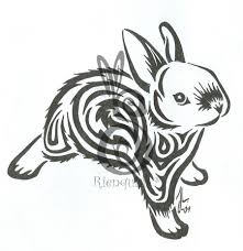 another bunny tattoo by rienquish on deviantart