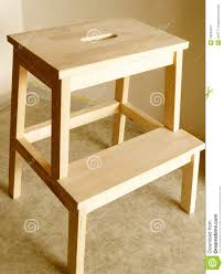 Woodworking Stool Plans For Free by Step Stool Royalty Free Stock Photography Image 18545547