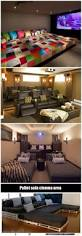 How To Decorate A Small House On A Budget by Best 25 Diy Movie Theater Room Ideas On Pinterest Home Theater