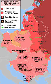 Ww2 Europe Map Military Occupations By The Soviet Union Wikipedia