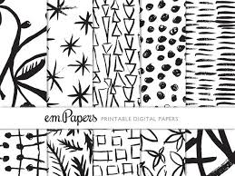 black and white wrapping paper printable wrapping paper black and white shapes e m papers