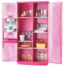 amazon com barbie treats to tv refrigerator set toys u0026 games
