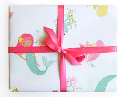 wrapping paper unicorn and rainbow gift wrap birthday