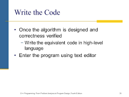 design text editor using c c programming from problem analysis to program design fourth