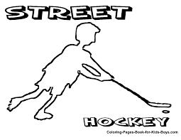 free printable hockey clipart 52
