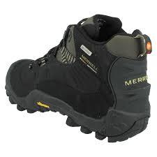 mens merrell walking boots chameleon thermo 6 wp ebay