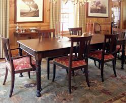 dining riveting victorian mahogany dining table and chairs