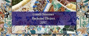 gaudi backyard summer project u2013 ideadeco