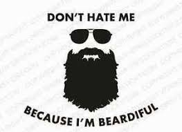 Beard Meme - beardiful vinyl decal funny meme beard lumbersexual moustache car