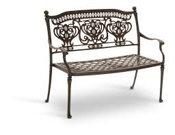 Seasonal Concepts Patio Furniture Turin Bench By Hanamint Hom Furniture
