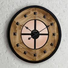 bedroom large square metal wall clocks shabbychic style compact