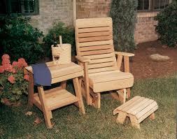 Red Cedar Outdoor Furniture by Red Cedar Royal Highback Glider Chair