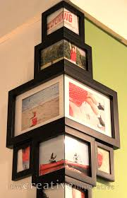 frame ideas very cool frames that fit around the corner of a wall from the