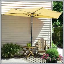 Patio Half Umbrella Half Patio Umbrella Outdoor Goods