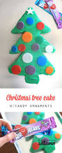christmas tree cake with candy ornaments it u0027s always autumn